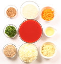 Food ingredients Royalty Free Stock Image