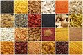 Food ingredients montage Stock Photo