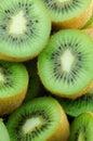 Food Kiwi Fruit slices. Royalty Free Stock Photo