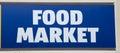 Food Market Sign
