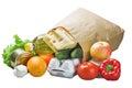 Food In A Paper Bag