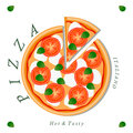 The food pizza