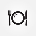 Food service vector icon illustration graphic design.