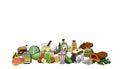 Food set illustration