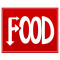 Food sign Royalty Free Stock Photography