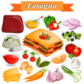 Food and Spice ingredient for Lasagana