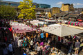 Food Stalls at Camden Market during the day Royalty Free Stock Photo