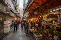 Food stores in Hong Kong Royalty Free Stock Photo