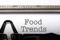 Food trends Royalty Free Stock Photo