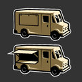 Food truck template .