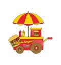 Food vendor cart theme