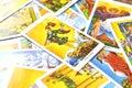 The Fool Tarot Card Begginins Rebirth Faith Royalty Free Stock Photo