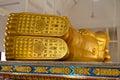 Foot Buddha Statue Royalty Free Stock Photo