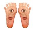 Feet Royalty Free Stock Photo