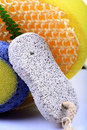 Foot scrubber Royalty Free Stock Photo