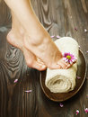 Royalty Free Stock Photography Foot Spa