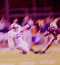 Football Action Abstract Blur Royalty Free Stock Photo
