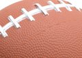 Football background american close up Royalty Free Stock Images