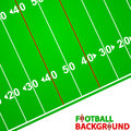 Football background new with space for text Stock Images