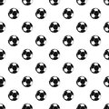 Football ball pattern vector