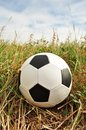 Football, ball, spotted Royalty Free Stock Photo