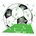 Football business Stock Photos