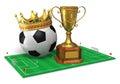 Football championship concept Royalty Free Stock Photo