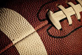 Football close up Royalty Free Stock Photo