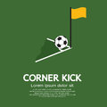 Football Corner Kick Royalty Free Stock Photography