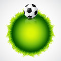 Football design Stock Photos