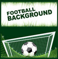 Football design elements Royalty Free Stock Photo