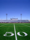 Football Field 4 Royalty Free Stock Images