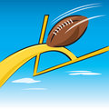 Football Fieldgoal Royalty Free Stock Images