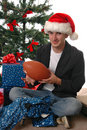 Football Gift Royalty Free Stock Image