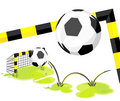 Football_goal Royalty Free Stock Photography