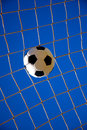 Football goal, goal, goal! Stock Photo