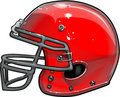 Football Helmet Vector Illustration Stock Photography