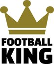 Football King Royalty Free Stock Photo