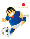 Football mascot Japan Stock Photography