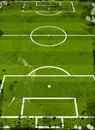 Football pitch Royalty Free Stock Image