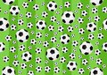 Football seamless background - cdr format