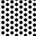 Football seamless pattern Royalty Free Stock Photo
