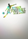 Football or soccer background Royalty Free Stock Photo