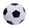 Football or soccer ball Royalty Free Stock Photo