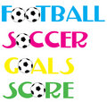 Football Soccer banners Royalty Free Stock Photography