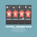 Football Or Soccer Dressing Room