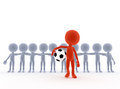Football, soccer team Stock Photography