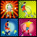 Football soccer vector Stock Images
