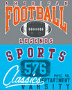 Football and sports designs Stock Photo