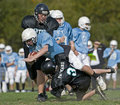 Football tackle Stock Photography